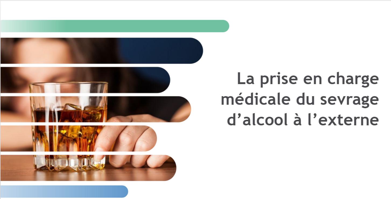 Couverture de la formation La prise en charge médicale du sevrage d'alcool à l'externe