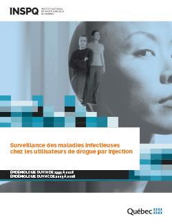 Rapport de surveillance épidémiologique des infections par le VIH et par le VHC parmi les personnes UDI