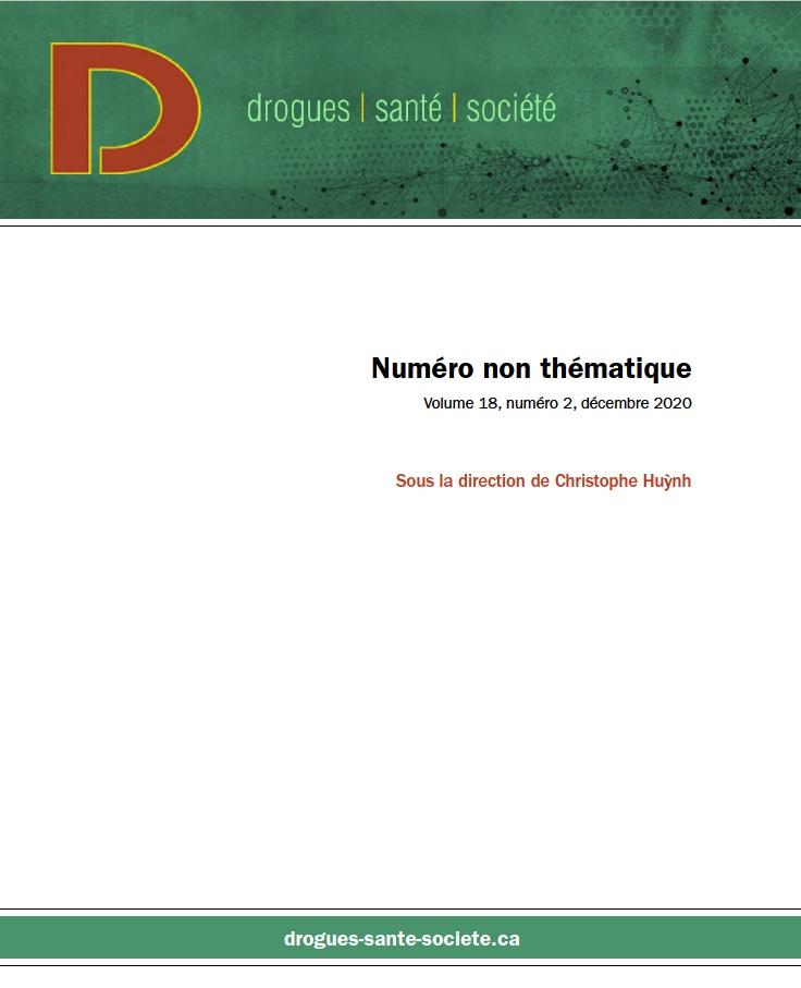Drogues santé et société Non thématique PDF