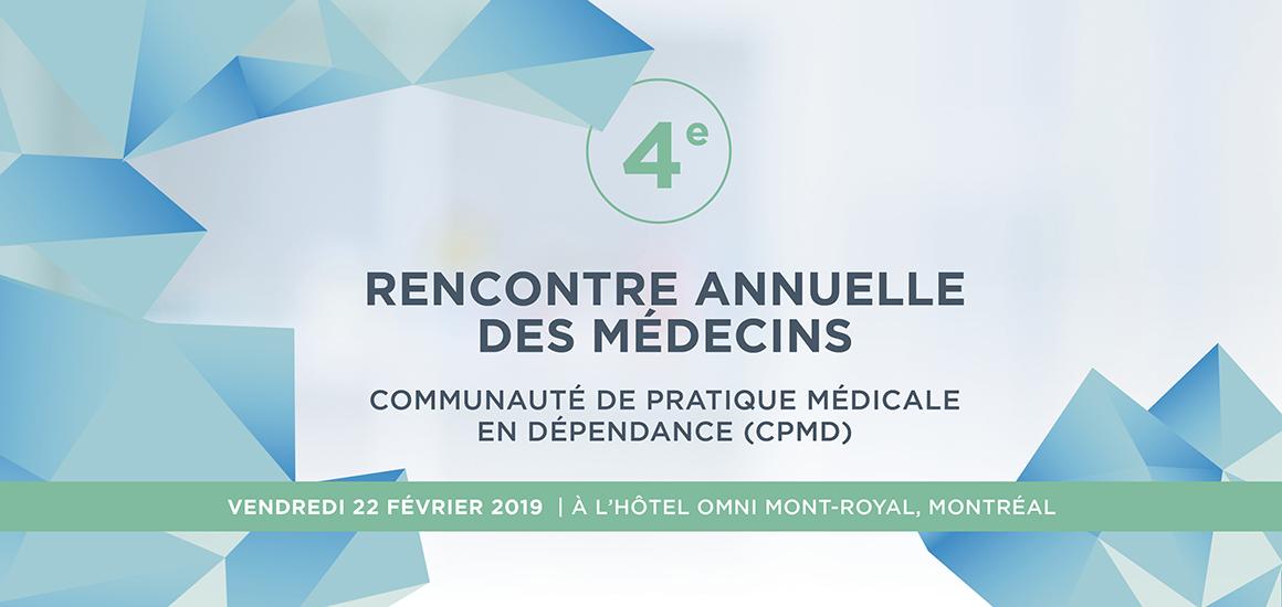 4eme renc. annuelle des médecins de la CPMD