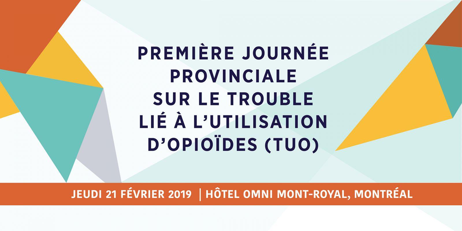 Première journée provinciale sur le TUO (visuel)