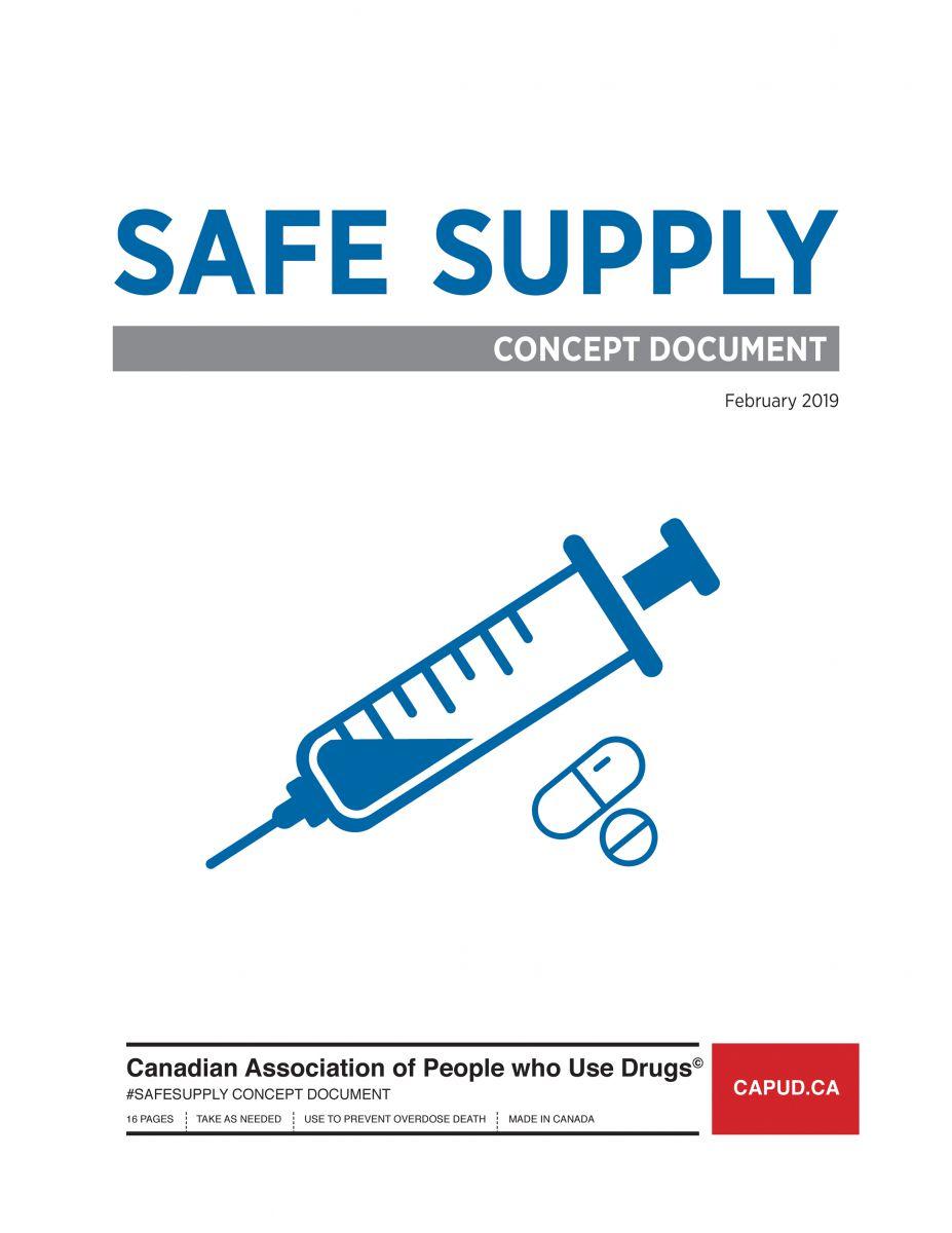 Couverture Safe Supply CAPUD
