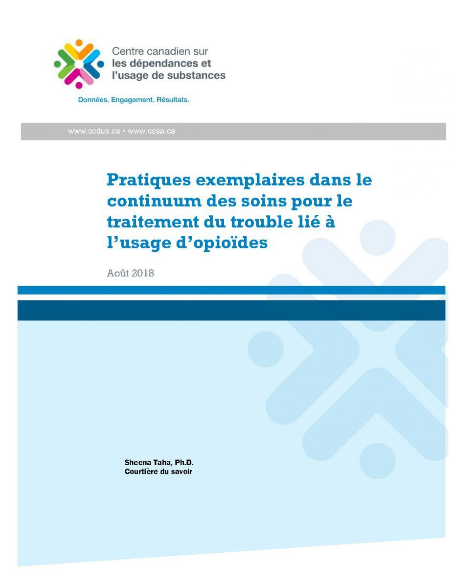 Couverture du rapport CCDUS pratiques exemp