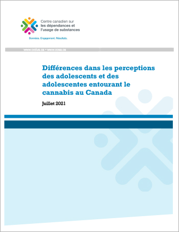 Rapport CCDUS Differences perceptions cannabis