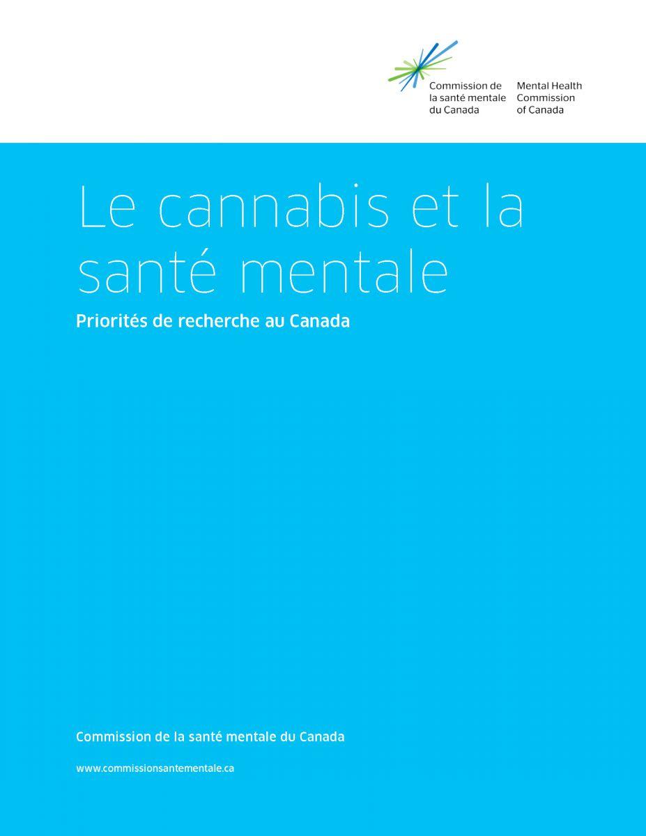 CSMC Cannabis et santé mentale. Priorités de recherche