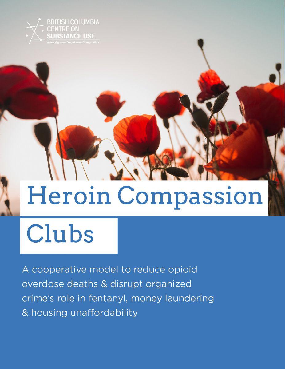 Couverture Heroin Compassion Clubs CCDUS