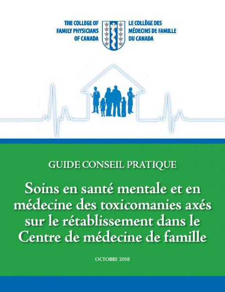 Couverture guide santé mentale et toxico CMFC