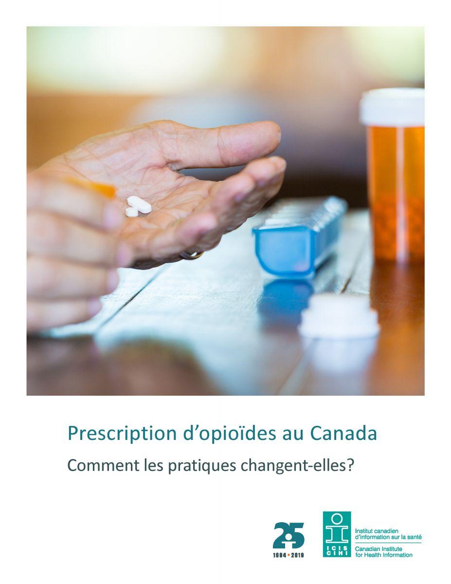Rapport ICIS prescriptions opioides Canada