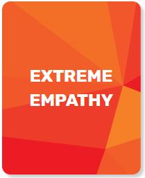 Extreme empathy