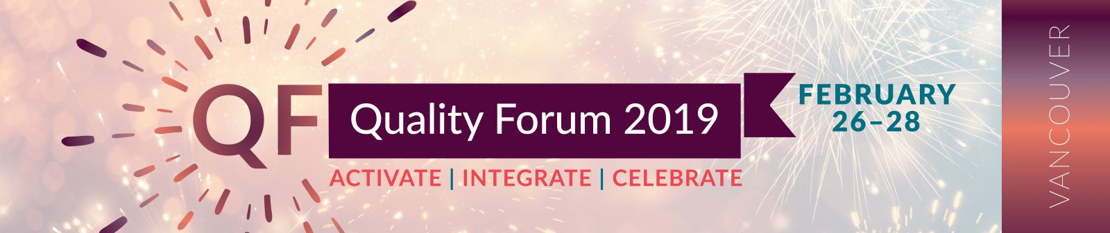 Register for Quality Forum 2019!