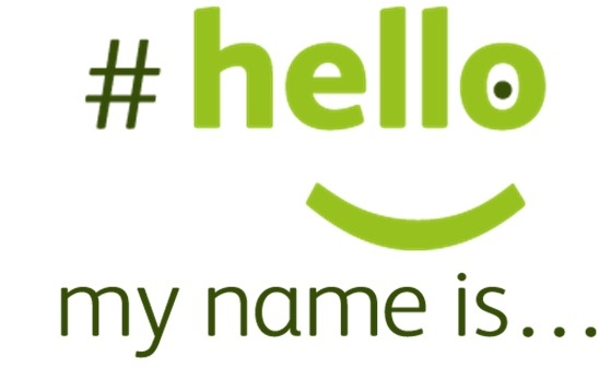 #hello my name is...