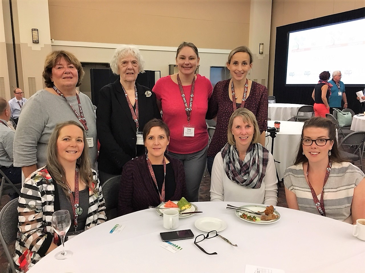 PVN patient partners and engagement leaders at the IAP2 Conference in Victoria
