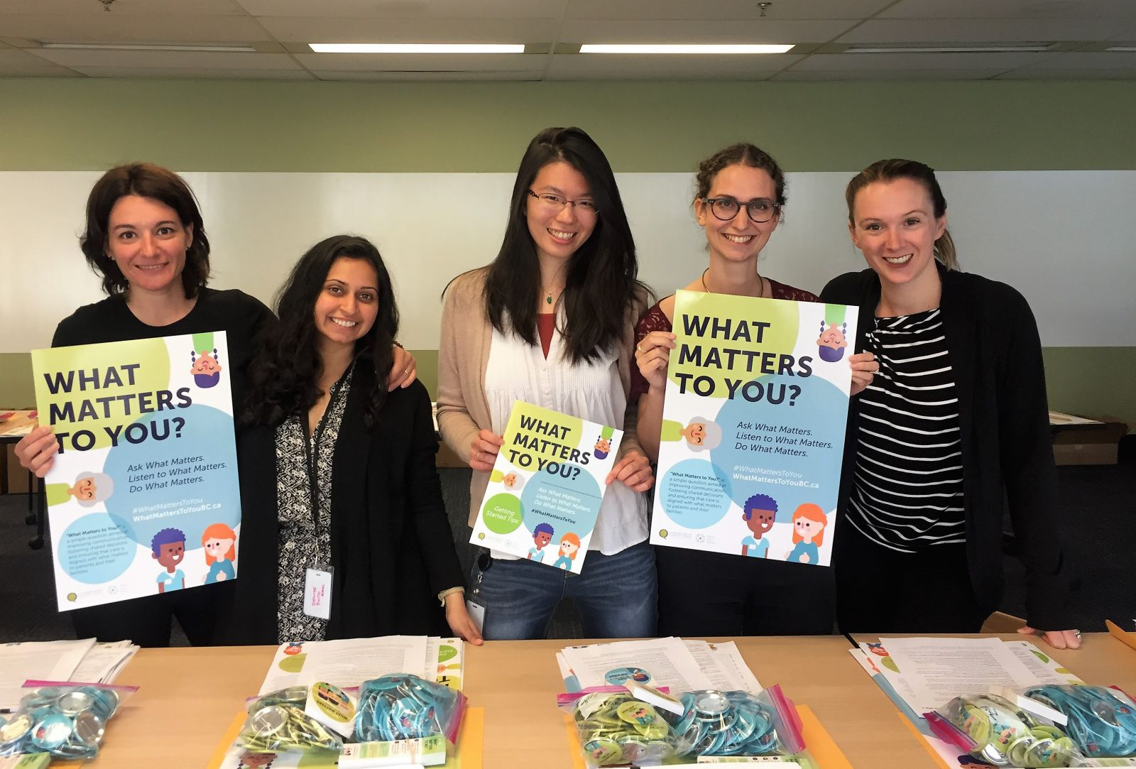 "PPE Team builds ""What Matters to You?"" toolkits for ambassadors"