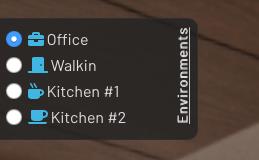 Environment Selector