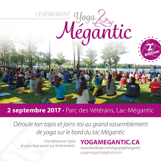 Yoga Mégantic 2017