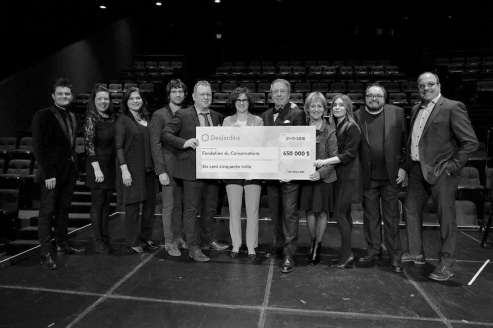 Un don de 650 000 $ à la Fondation du Conservatoire