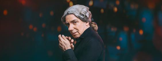 Jacques Leblanc dans le rôle de Salieri