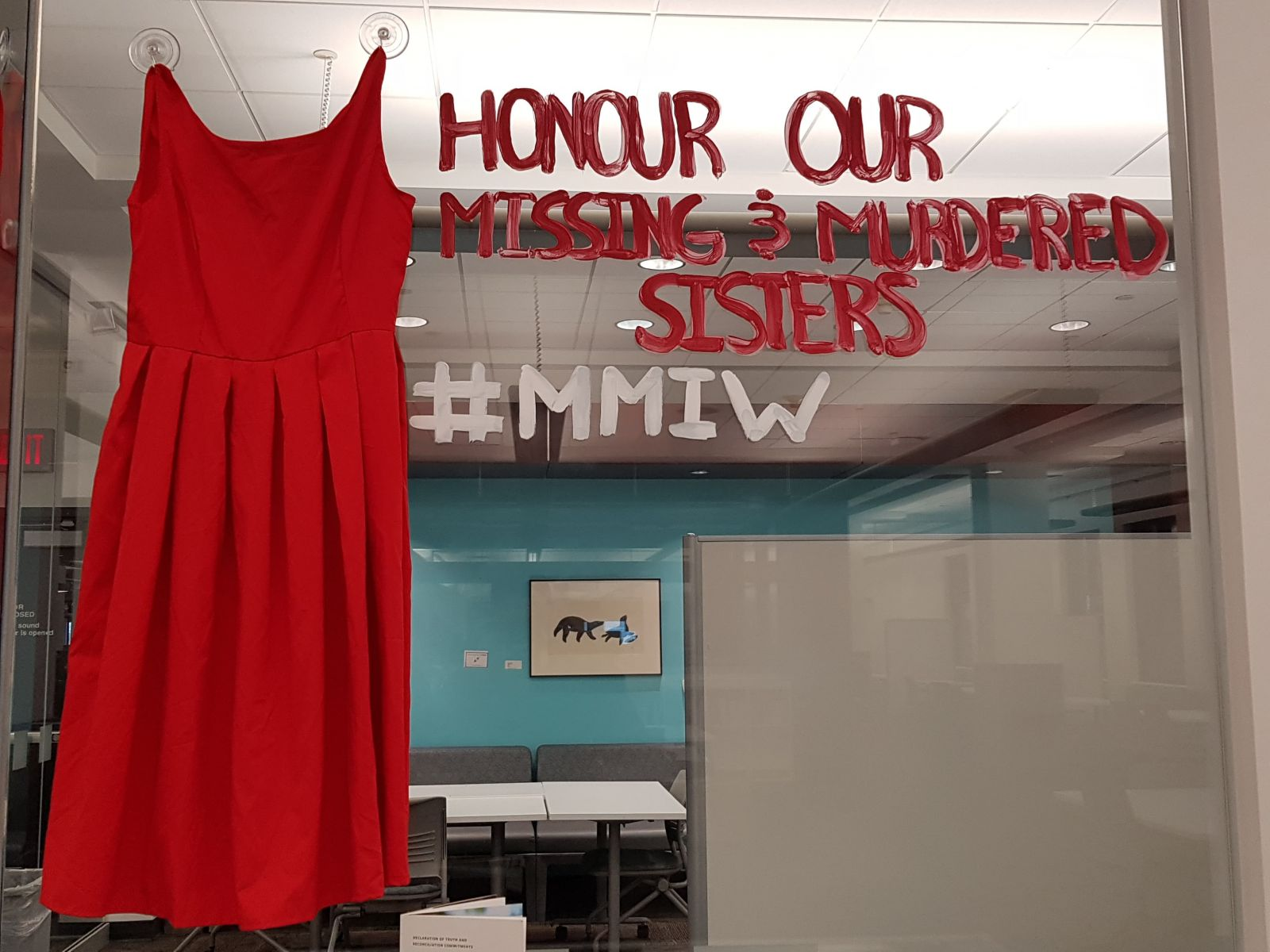 In Honour of Missing and Murdered Indigenous Women