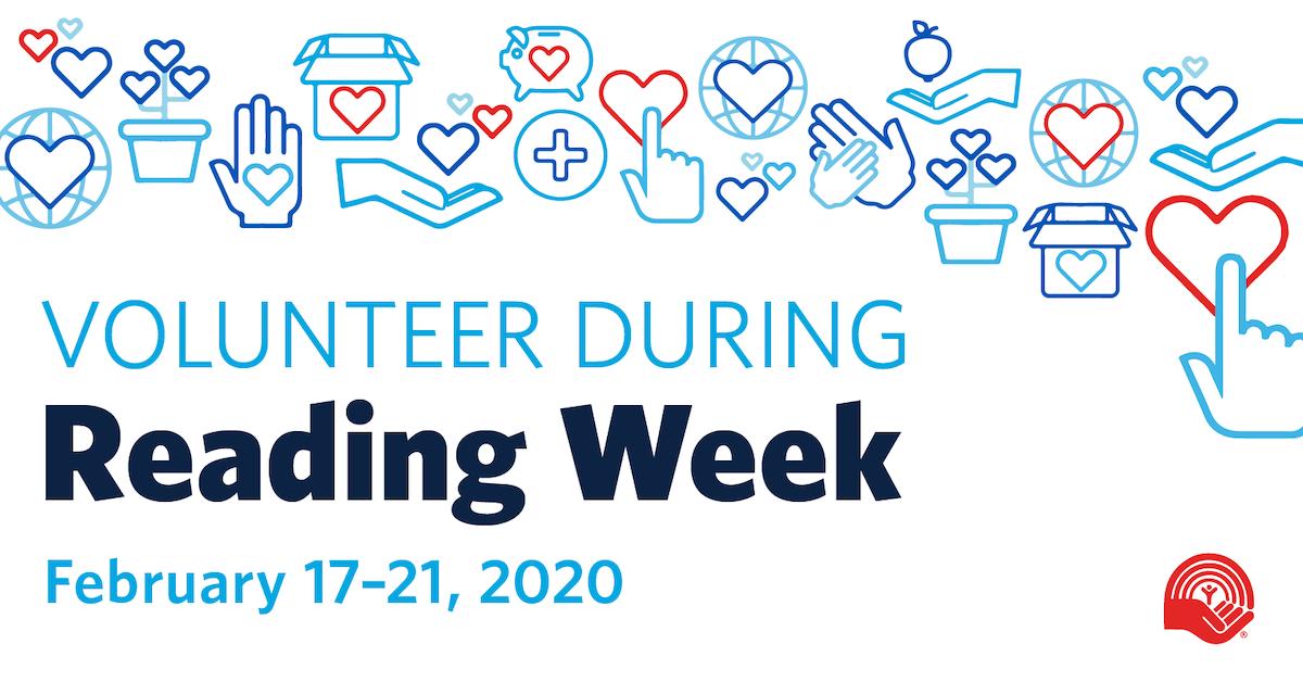 Volunteer During Reading Week