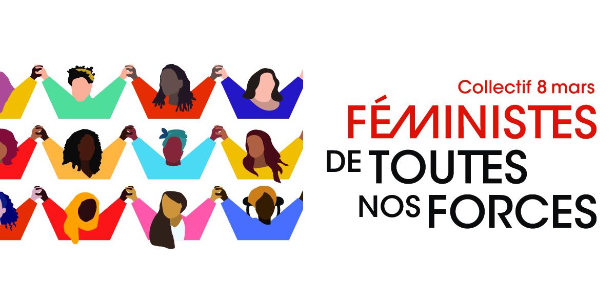 affiche pour la journée internationale des droits des femmes