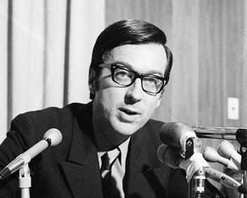 Photo ancienne : Robert Bourassa en 1971.