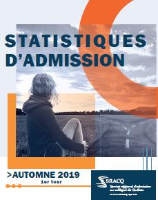 Statistiques d'admission