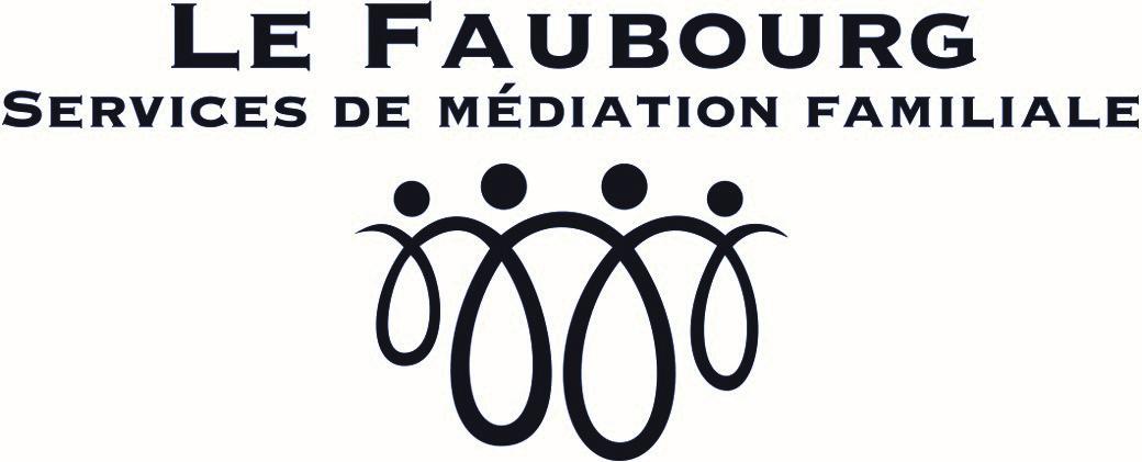 Logo Le Faubourg - Services de médiation familiale