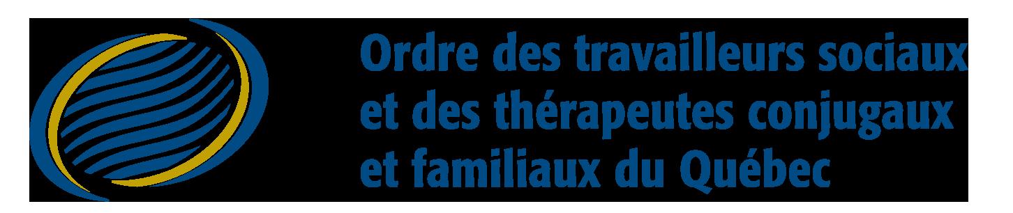 Logo Ordre des travailleurs sociaux et des thérapeutes conjugaux et familiaux du Québec