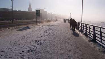 Rimouski en hiver