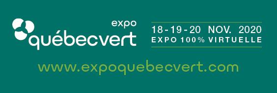 Expo Québec Vert 2020 : formule 100 % virtuelle