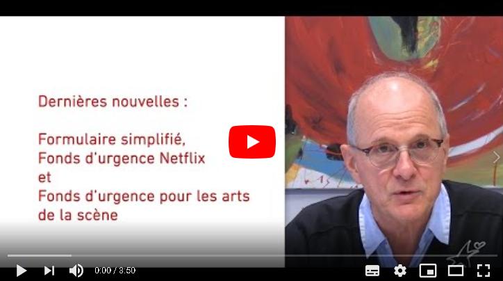 Capsule de Michel Laperrière sur la Fondation des artistes