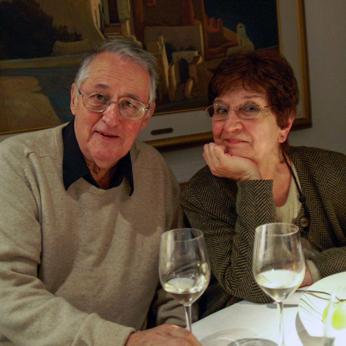 Jean Brousseau et Lise L'Heureux