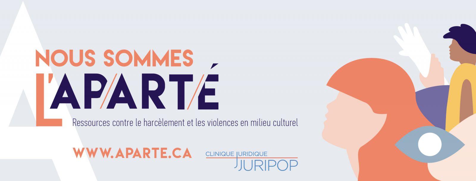 Site internet de L'Aparté : https://aparte.ca/