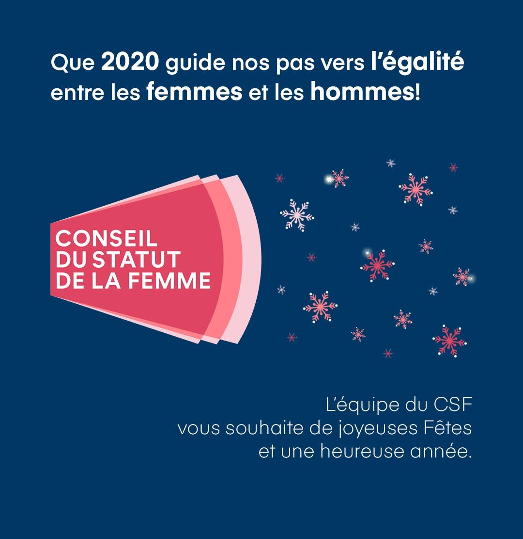 Joyeuses Fêtes 2019 du CSF