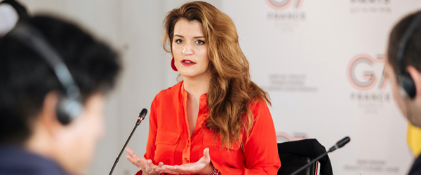 Cinq questions sur l'égalité à Marlène Schiappa