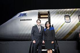 Bombardier présente le Challenger 3500