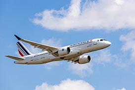 Air France présente son premier Airbus A220-300