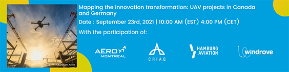 Inscription à Mapping the innovation transformation: UAV projects in Canada and German