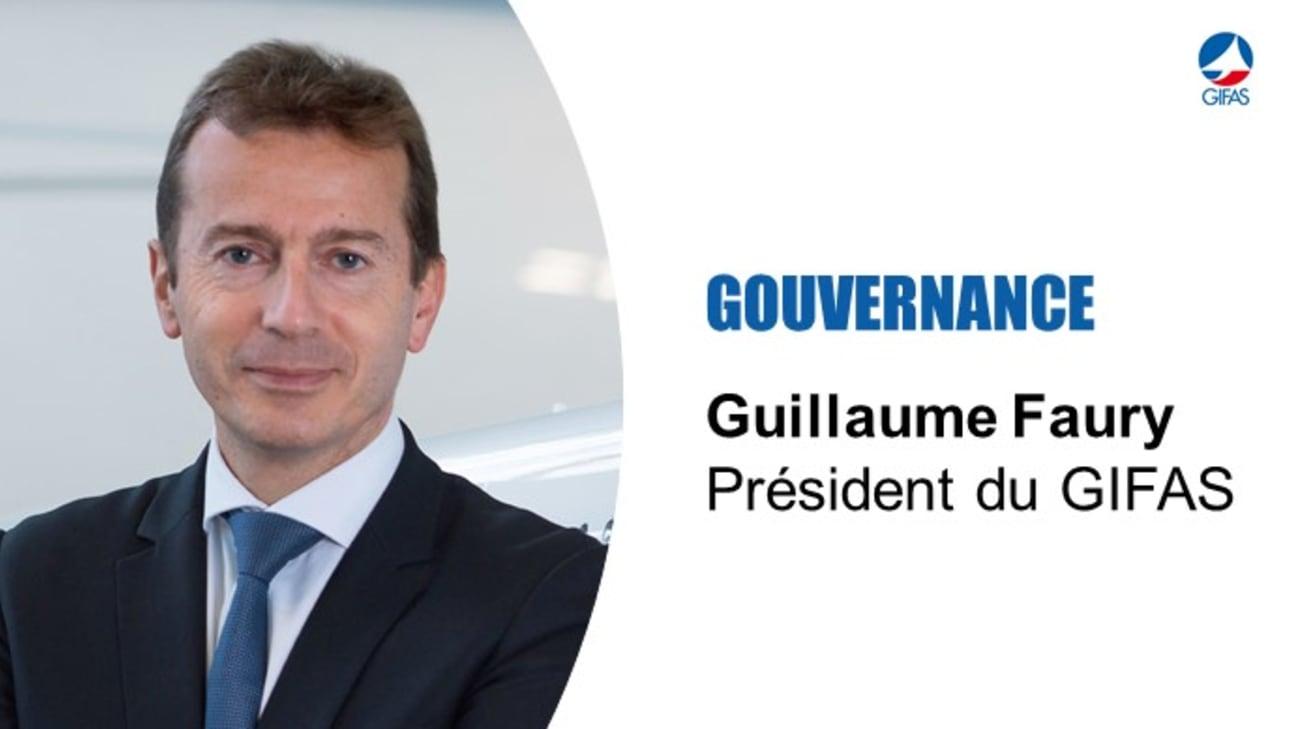 Guillaume Faury, élu président du GIFAS