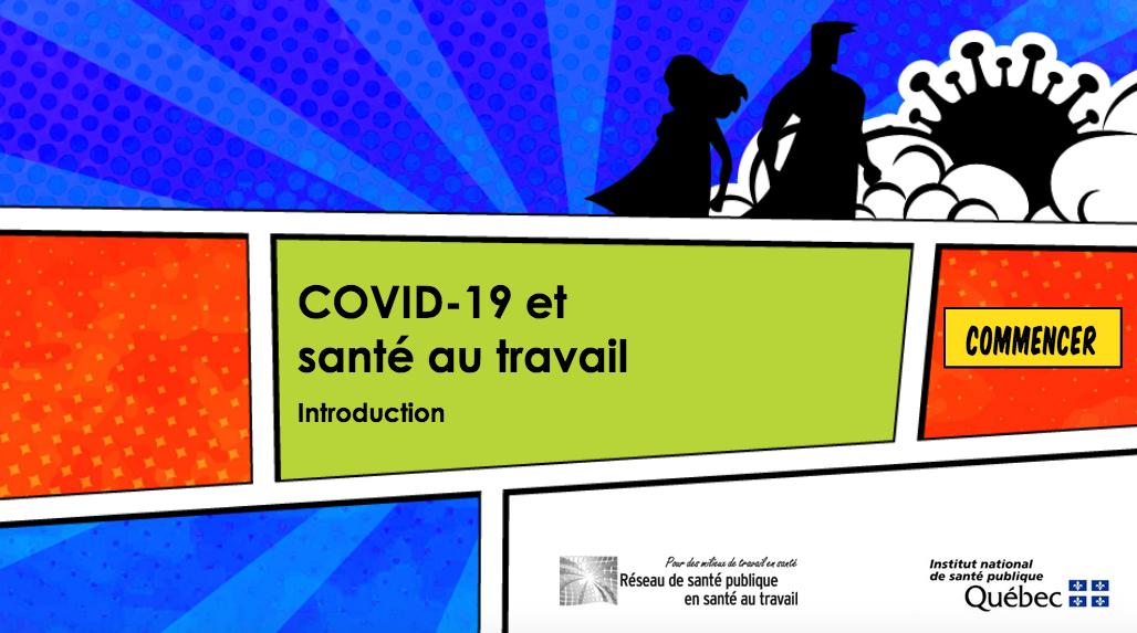 COVID-19 et santé au travail