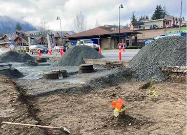 Image of gravel piles