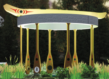 Vedder Roundabout Art