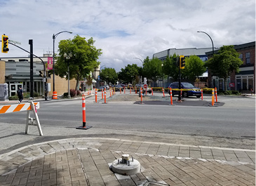 Five Corners Intersection Project