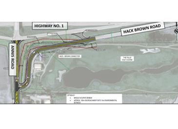 Hackbrown Road Realignment