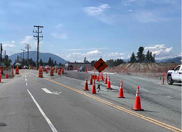Promontory Road Widening