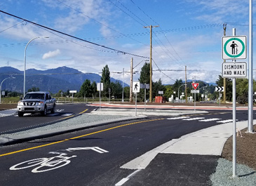 Prest at Chilliwack Central Roundabout