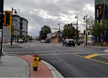 Image of an intersection