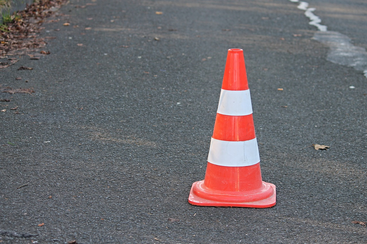Image of a traffic cone