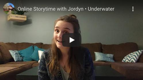 Screenshot of Bowen Library Storytime video