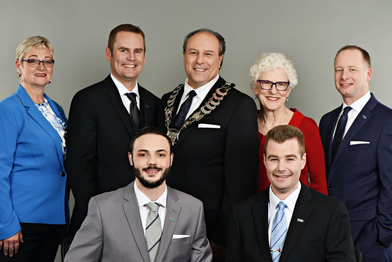 Picture of King Mayor and Councillors